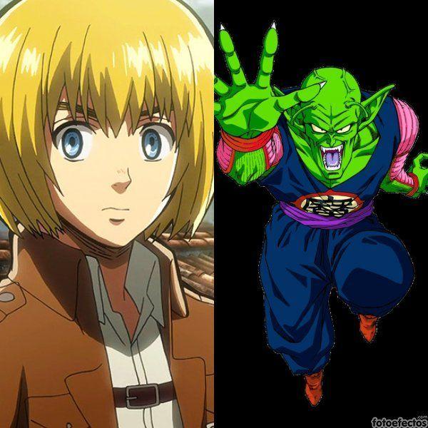 Armin vs Piccolo Daimaoh