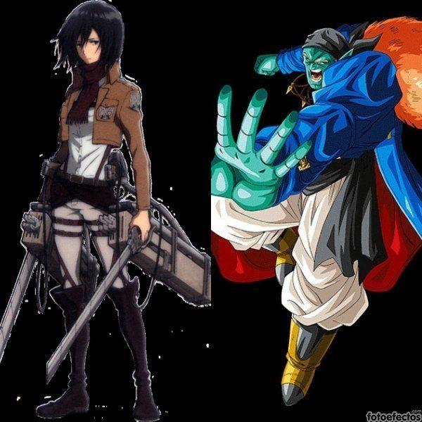 Mikasa vs Bojack