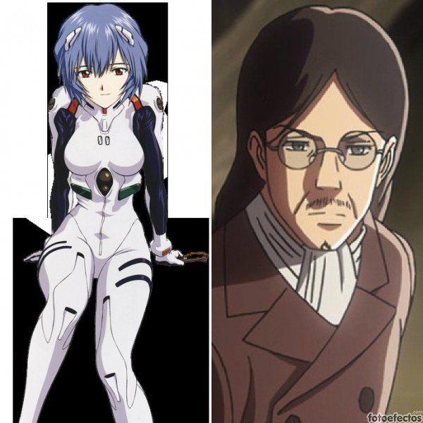 Rei Ayanami vs Grisha