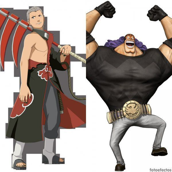 Hidan vs Burgess