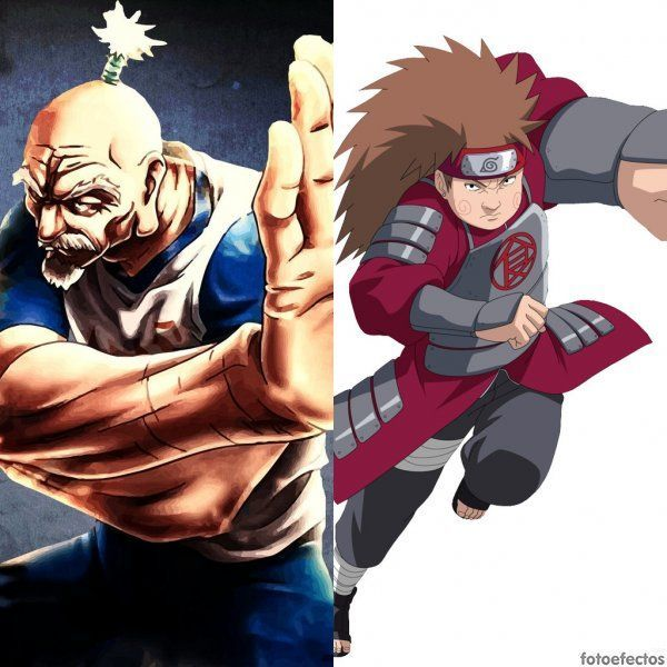 Netero vs Choji