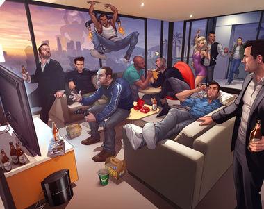 4306 - ¿Qué tanto sabes de la saga Grand Theft Auto?
