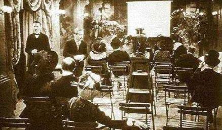 ¿Cuándo fue la primera presentación cinematográfica?