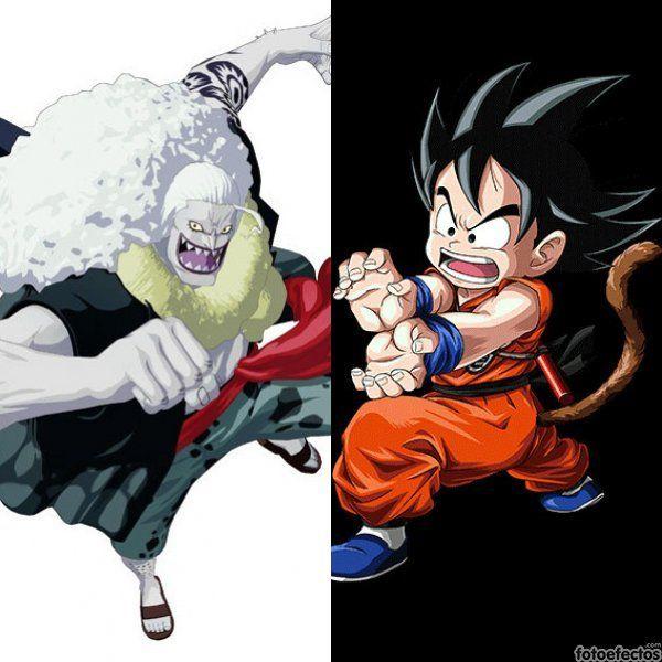 Hody Jones vs Goku
