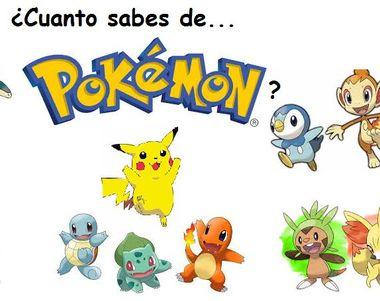 778 - ¿Cuanto Sabes de Pokémon?
