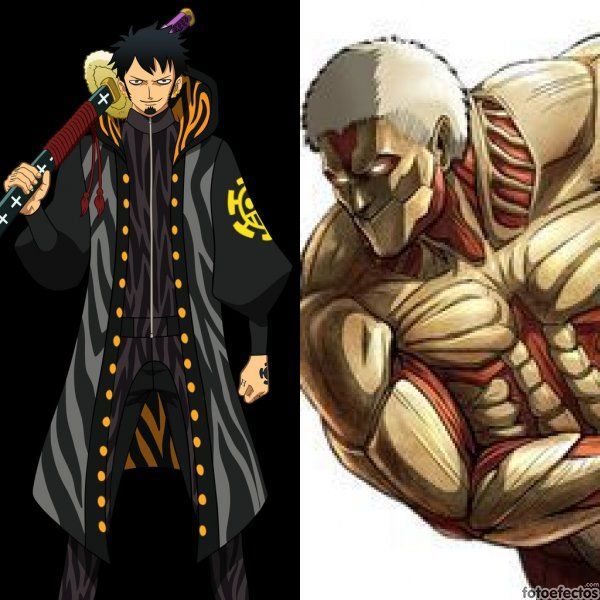Trafalgar Law vs Titán acorazado