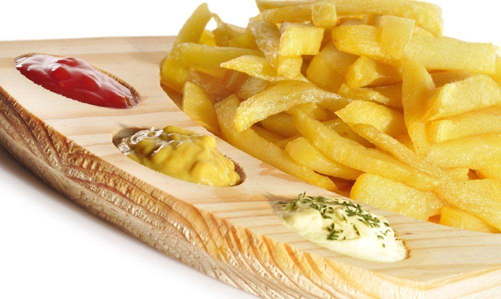 ¿Ketchup o mayonesa?
