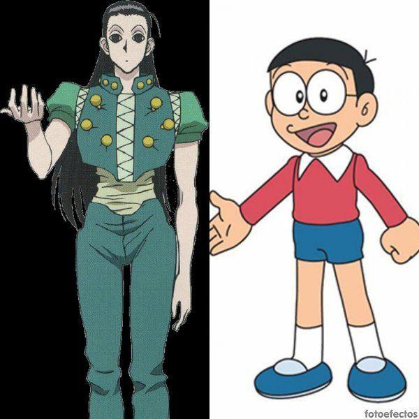 Illumi vs Nobita