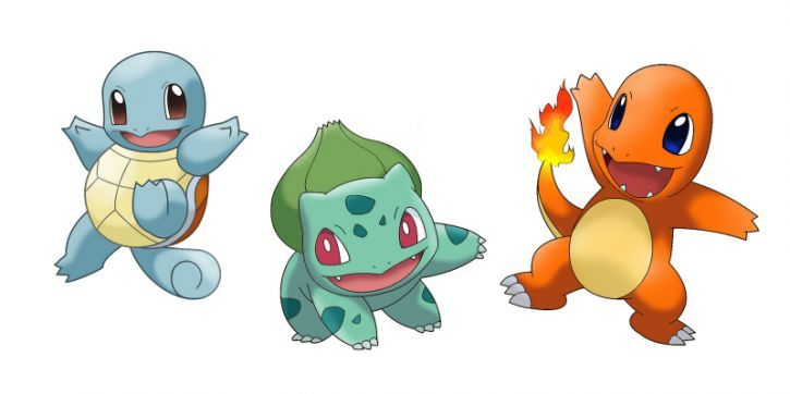 ¿Qué pokemon de la primera generación escogerías para comenzar tu aventura?