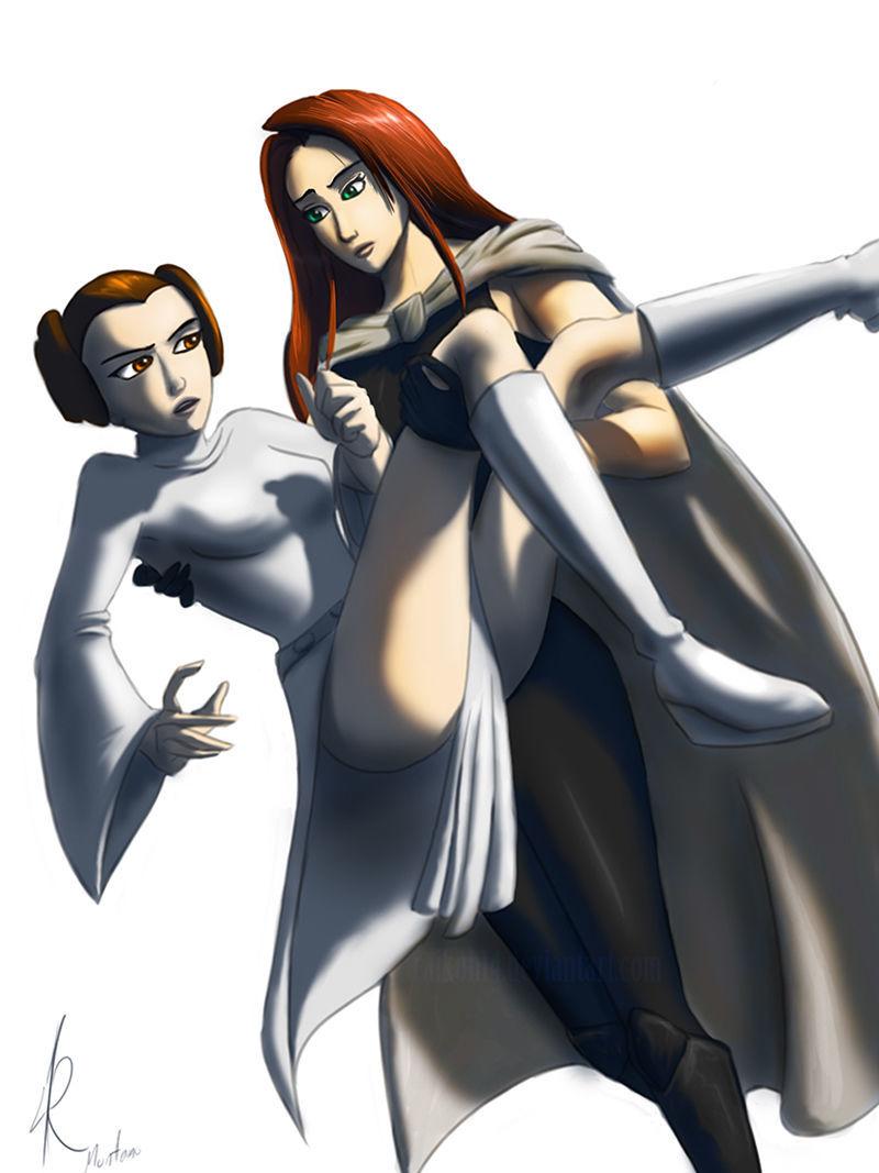 Leia VS Atris