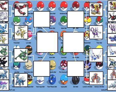 16246 - Cuartos Torneo de Pokémon (legendarios y principiales)