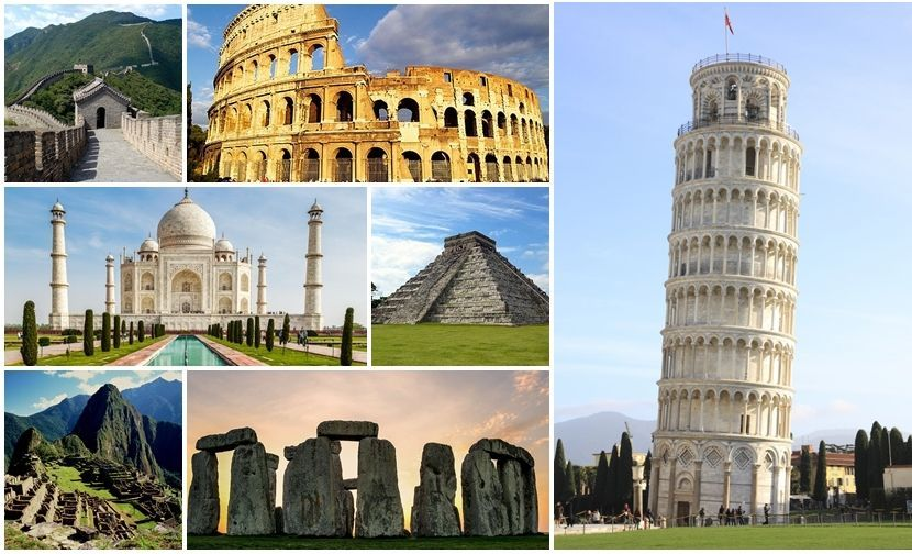 ¿Cuál es tu preferida de estas 7 maravillas del mundo?