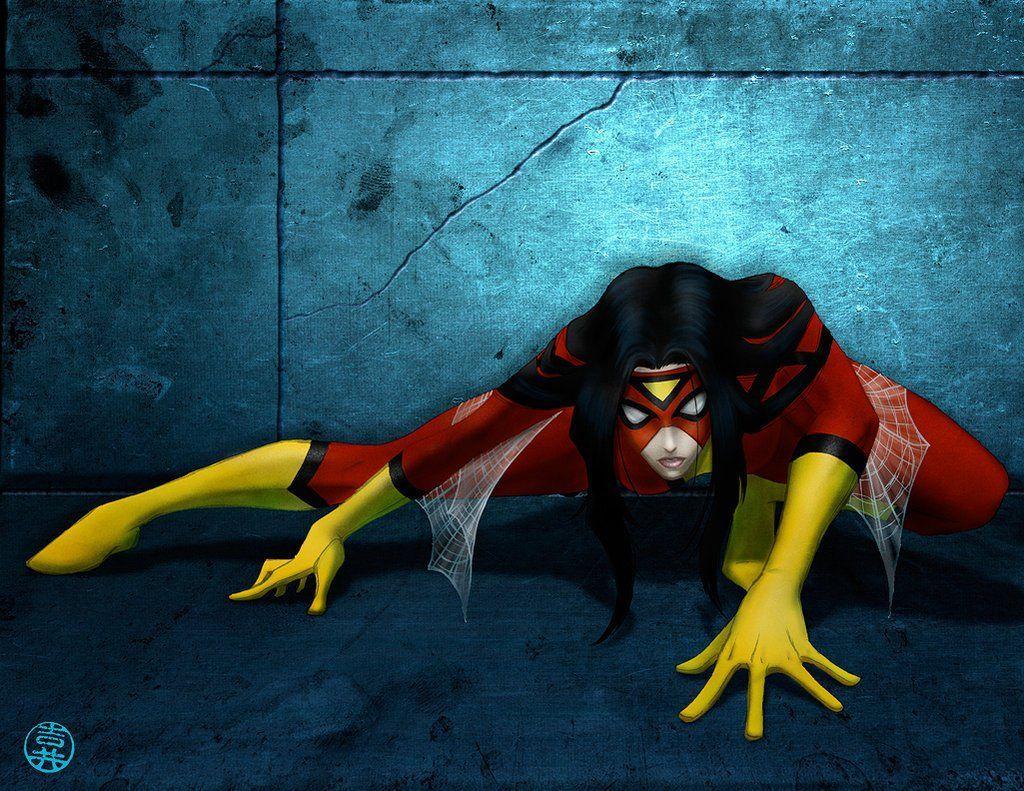 ¿Cómo obtuvo sus poderes Spider Woman (Jessica Drew)?