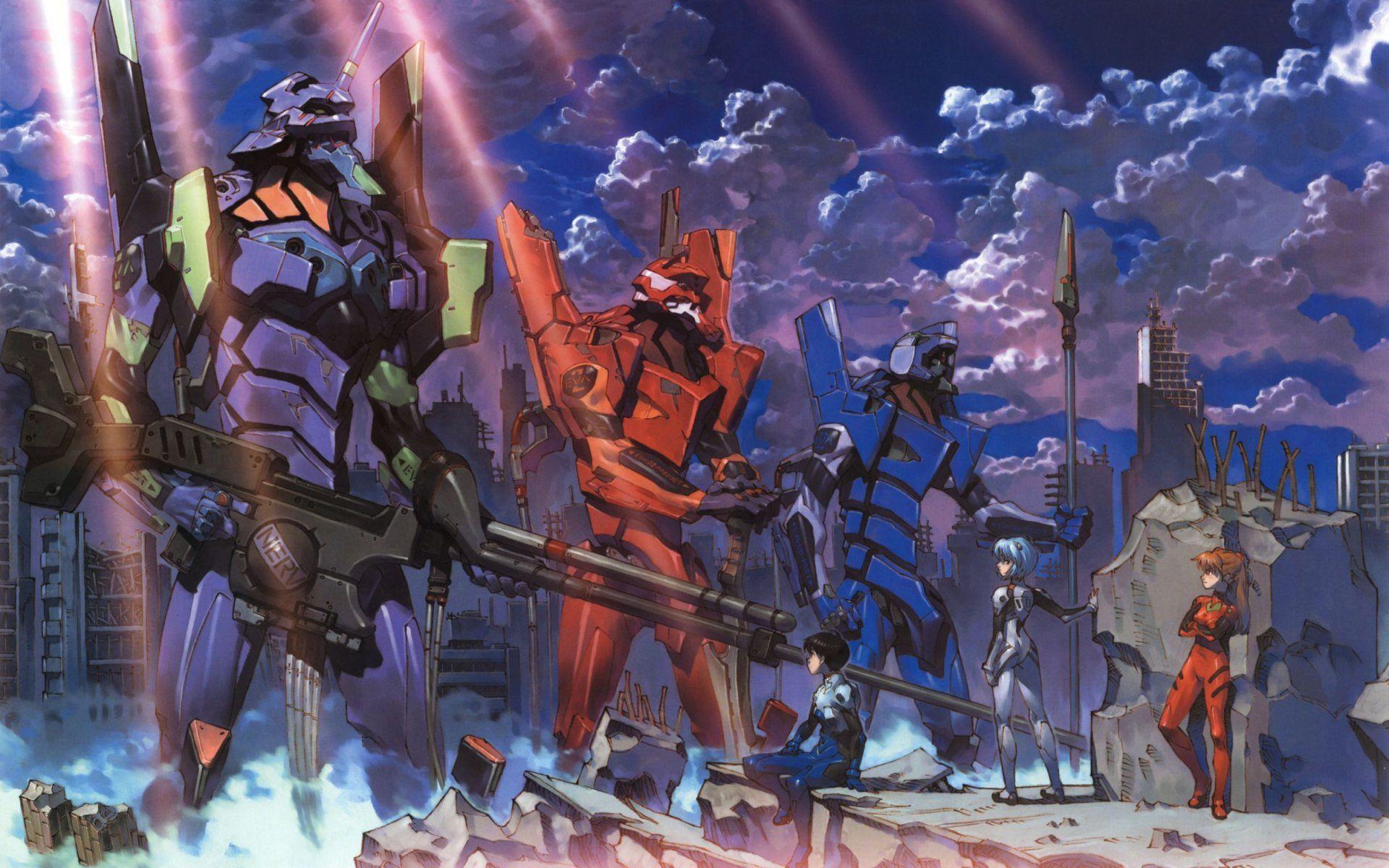 Hideaki Anno dirigió Evangelion... ¿En qué estudio?