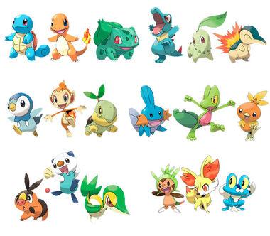 8319 - Pokémon iniciales