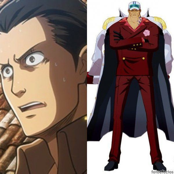 Sawney vs Sakazuki