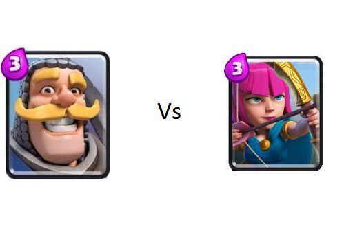 Caballero vs Arqueras