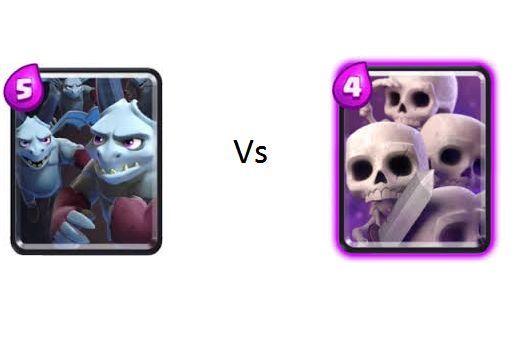 Horda de esbirros vs Ejercito de esqueletos