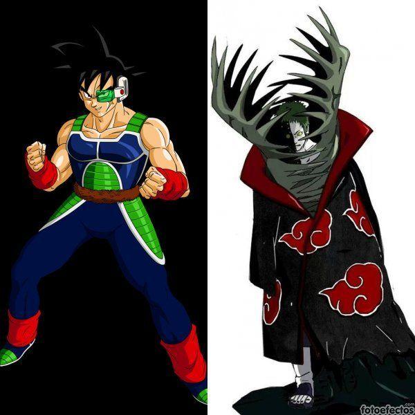 Bardock vs Zetsu