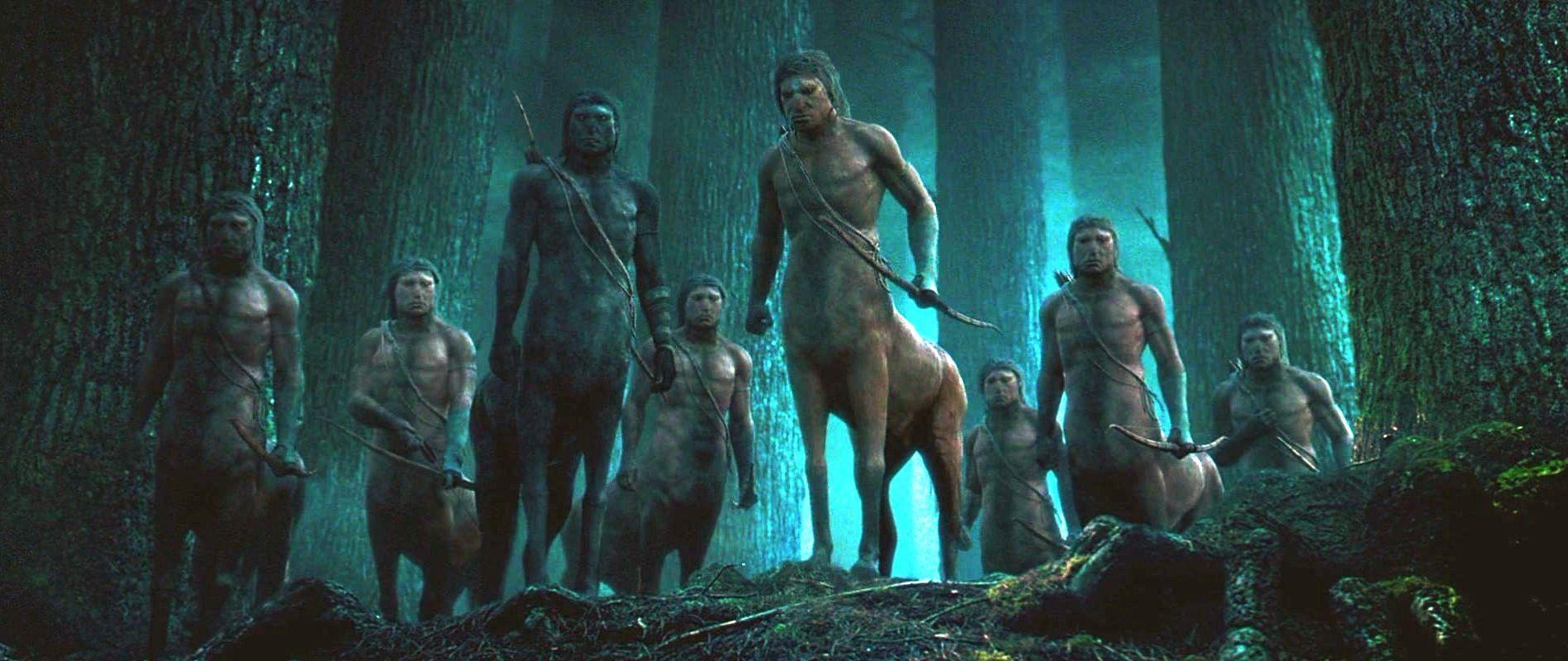 ¿Cómo se llama el centauro que aparece en Bosque Prohibido?