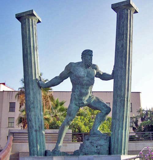 ¿A qué se debe la estatua de Hércules en Ceuta?