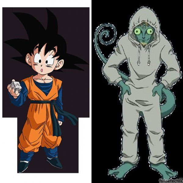 Son Goten vs Meleoron
