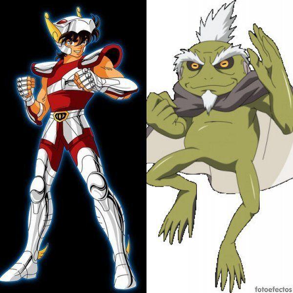 Seiya de Pegaso vs Fukasaku