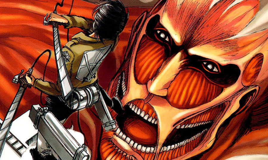 ¿Qué editorial tiene la licencia de Shingeki no kiojin (Ataque de los titanes)?