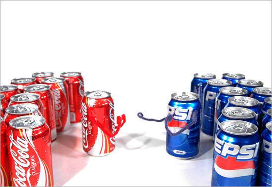 La que nunca falla. ¿Pepsi o Coca-Cola?