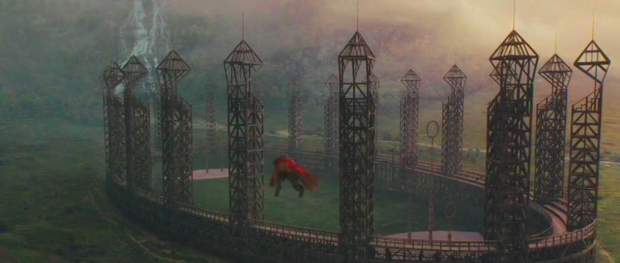 ¿En qué posición jugaba James Potter en el Quidditch?