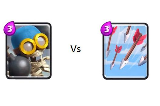 Bombardero vs Flechas