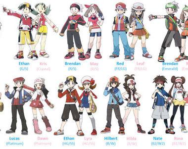 23756 - POKÉMON: Personajes y tipos.¿Qué  prefieres?