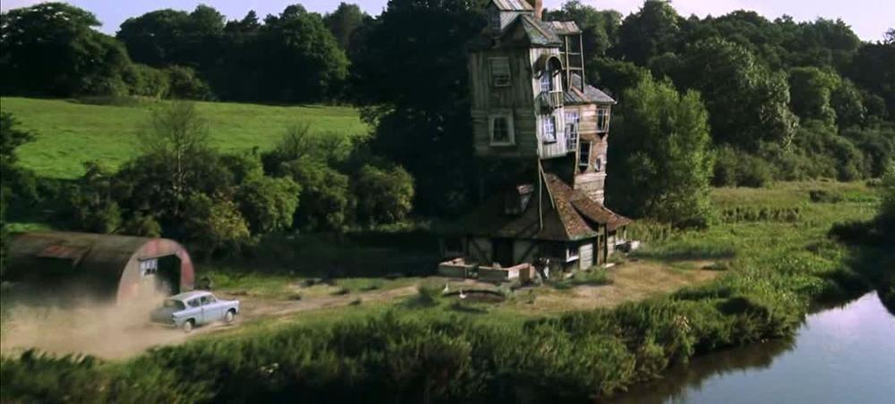 ¿Cómo se llama la casa de los Weasly?