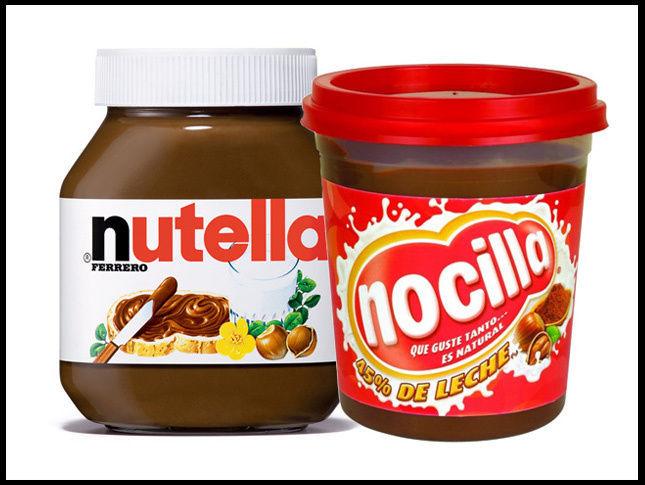 ¿Nutella o Nocilla?