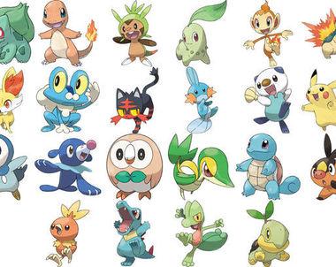 22183 - ¿Que Pokémon elegirías?