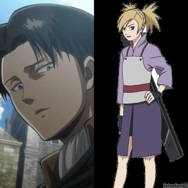 Levi vs Temari