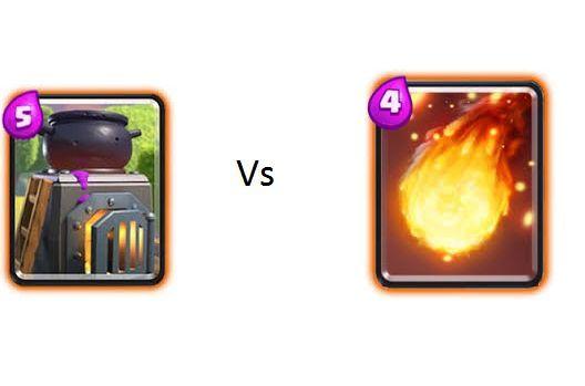 Horno vs Bola de fuego