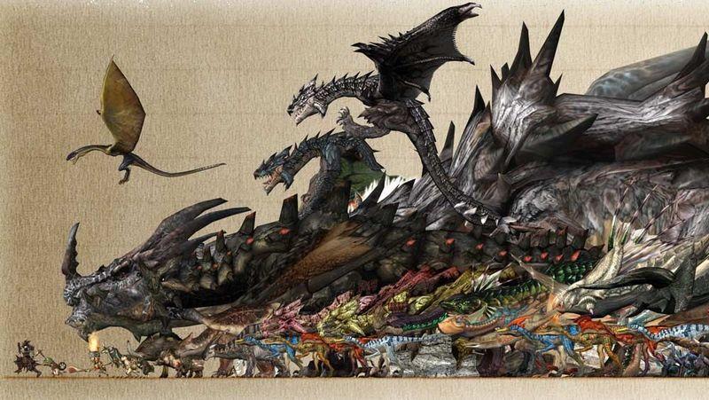 30801 - Diseños de Monster Hunter