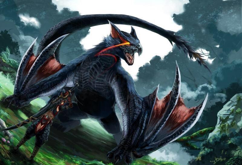 Nargacuga,La bestia Negra