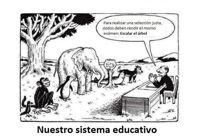 El sistema educativo debe ser cambiado