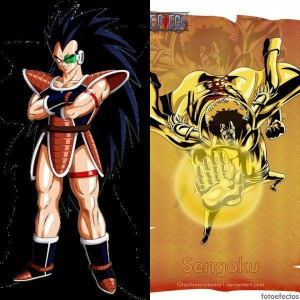 Raditz vs Sengoku