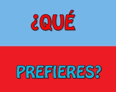 21631 - ¿Qué prefieres?