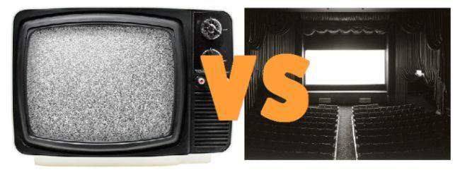 ¿Cine o TV?