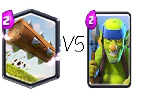 El tronco vs Duendes con lanza