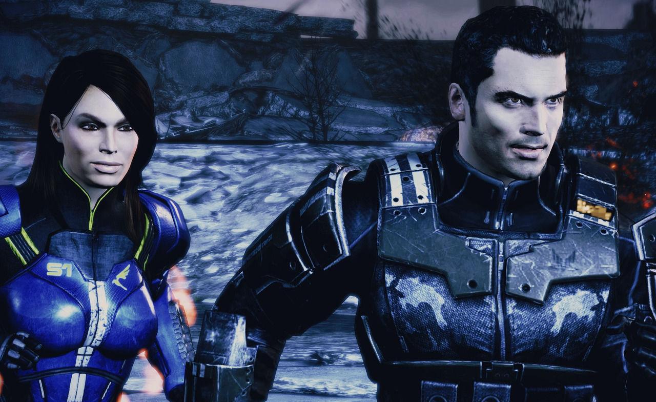 SPOILER de Mass Effect. ¿Salvarías a Ashley o a Kaidan?
