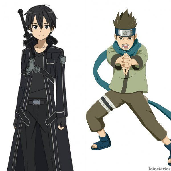 Kirito vs Konohamaru