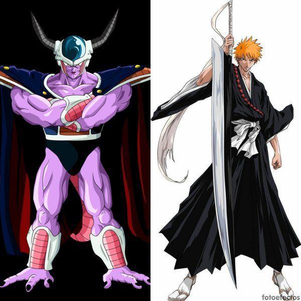 King Cold vs Ichigo Kurosaki